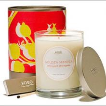 Gift furniture Kobo Soy Candles- Golden Mimosa