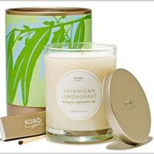 Gift furniture Kobo Soy Candles- Artemisian Lemongrass