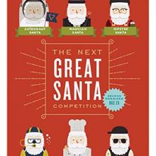 "Bedroom furniture ""Great Santa"" Christmas Card (Set of 6)"