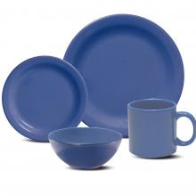 Kitchen furniture Daily Dinnerware Place Setting, Blue, 16-Piece