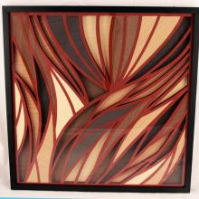 Enrique Rodriguez- Places Collection - Amazonia Line 004- Tridimensional Paper and paperwood Work
