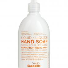 Bathroom furniture Hand Soap Grapefruit + Bergamot