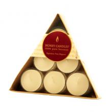 Gift furniture Gift Pack 6 Triangle Tealights 6 Pearl