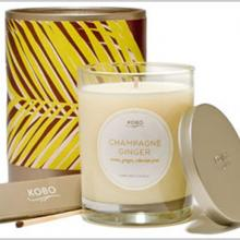 Gift furniture Kobo Soy Candles- Champagne Ginger