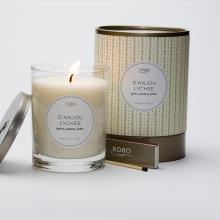 Gift furniture Kobo Soy Candles- D'Anjou Lychee