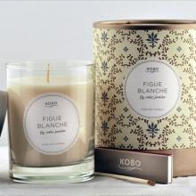 Gift furniture Kobo Soy Candles- Figue Blanche