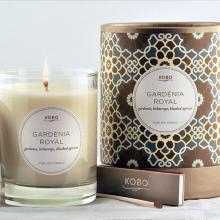 Gift furniture Kobo Soy Candles- Gardenia Royal