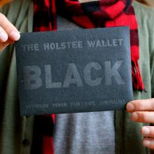 Gift furniture Holstee- The Black Wallet