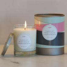 Gift furniture Kobo Soy Candles- Cassis et Rose Douce