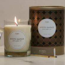 Gift furniture Kobo Soy Candles- Kyoto Quince