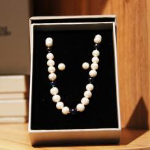 Mani Jewellery- Ava Pearl Set with Necklace and Earing