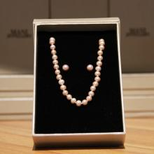 Mani Jewellery- Brigitte Pearl Set with Necklace and Earing