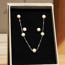 Mani Jewellery- Catherine Pearl Set with Necklace and Earing