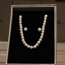 Mani Jewellery- Sophia Pearl Set with Necklace and Earing
