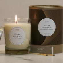 Gift furniture Kobo Soy Candles- Moon Wisteria