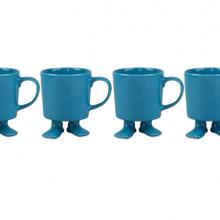 Gift furniture Dylan Kendall- Turquoise Mug with feet set