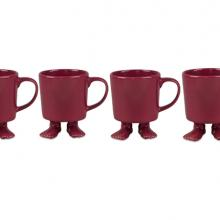 Gift furniture Dylan Kendall- rose Mug with feet set