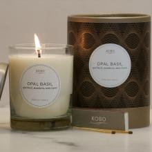 Gift furniture Kobo Soy Candles- Opal Basil