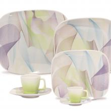 Kitchen furniture Karim Rashid Collection- Shift Line- 9333 Fusion 30 pieces Dinner and Tea Set