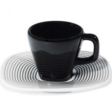 Kitchen furniture Karim Rashid Collection- Shift Line- 9331  Wisk 2/6 Pieces Tea Set  150ml