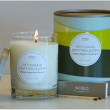 Gift furniture Kobo Soy Candles-Petitgrain Zesty Peel & Stem