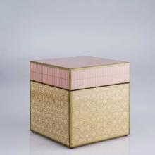 Living Room furniture Piling Palang- Retro Expo- Square Box with Floral Pattern Pink