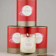 Gift furniture Kobo Soy Candles- Red Grass