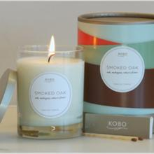 Gift furniture Kobo Soy Candles- Smoked Oak