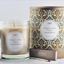 Gift furniture Kobo Soy Candles- Tabac and Talc