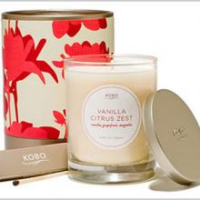 Gift furniture Kobo Soy Candles- Vanilla Citrus Zest