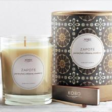 Gift furniture Kobo Soy Candles- Zapote